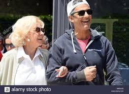 Rome, Italy. 19th May 2018. - Foro Italico Tennis and Friends Lea Pericoli  and Rosario Fiorello Credit: Giuseppe Andidero/Alamy Live News Stock Photo  - Alamy