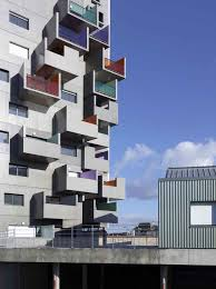 modern urban residential architecture.  Architecture Rennes Residential Building Throughout Modern Urban Architecture