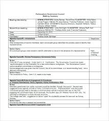 Meeting Agenda Minute Writing Template Minutes Format Example Sample ...