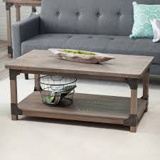 ... Coffee Table, Amusing Cream Rectangle Wood Rustic Coffee Table Set With  Storage Ideas For Living ...