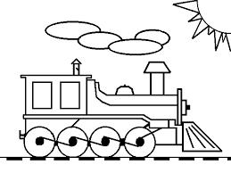 Treni Disegni Per Bambini Da Colorare