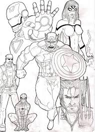 Small Picture The Avengers Movie Coloring Pages GetColoringPagescom
