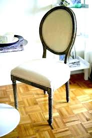 round back chair dining chairs cushions rail ideas and a half glider