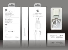 20W USB-C Power Adapter to Lighting Cable for iPhone 12 PRO Max UK 3 Pin -  China Charger and Adapter price