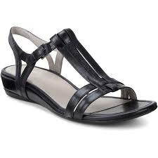 Ecco Bouillon Sandal Light Gold Ecco Sandals Women Dress Sandals Brands And Best Prices