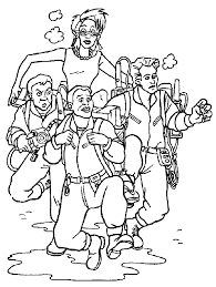 Small Picture Printable Ghostbusters Coloring Pages Coloring Me