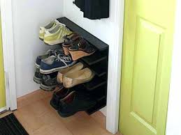 entryway shoe storage diy furniture smart and creative small wood entryway shoe storage design in the