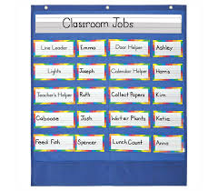 Carson Dellosa Classroom Helpers Pocket Chart