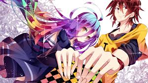 Image result for انیمه No Game No Life