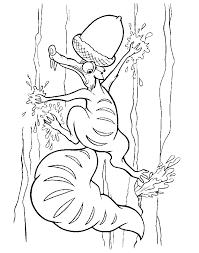Ige Age Kleurplaten Scrat Eekhoorn Eikelt