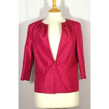 alexon 16 cerise polyester occasions jacket pink womens clothing xrazbb15511