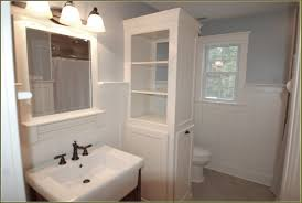 White Corner Bathroom Cabinet Corner Bathroom Vanity Plans Bathroom Vanities Decorating Ideas