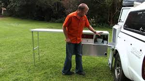Camper Trailer Kitchen Ots Universal Camper Kitchen Youtube