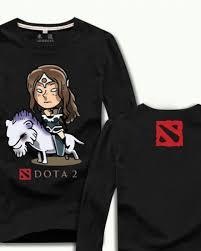 mirana nightshade cotton t shirt from dota 2 game mens plus size t