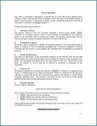 Create a high quality document online now! Free Printable Service Agreement Contract Template Templateral