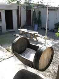 wine barrel outdoor furniture. Wine Barrel Garden Brilliant Ways Of Reusing Old Barrels Amazing Furniture . Outdoor