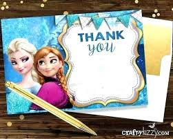 Frozen Birthday Card Sayings Party Invitation X Wording