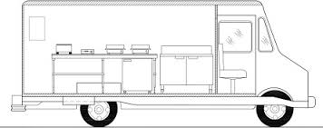 food truck floor plans. Crepe Food Truck Left Side CREPE-TRUCK-LEFT-ELEV-445x177 Floor Plans E