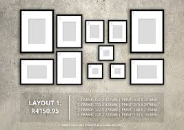 feature wall layouts with orms print room framing