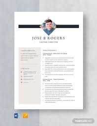 Casting Director Resume 278 Free Resume Templates In Microsoft Word Doc
