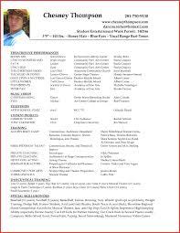 Actor Resume Sample Macopalmexco