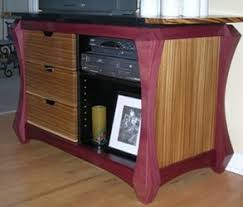 purple heart wood furniture. And A Real Impact Piece \u2013 Purpleheart And Zebrawood Console By Girelli  Designs Purple Heart Wood Furniture I