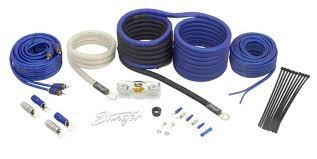 stinger wiring kit solidfonts knukonceptz true 4 gauge amp amplifier install wiring kit
