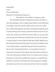 rite of passage essay rohan sheikh professor wendy white 3 pages rite of passage essay 3