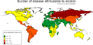 Consumption Alcohol Anthroscape Data - Map
