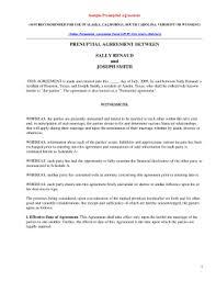 Sample Prenup 31 Printable Prenuptial Agreement Sample Forms And Templates