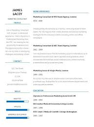 Cv Guidelines Fresh Two Column Cv Template Cv Template Master Resumes