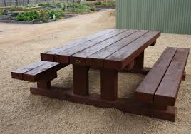 Incredible Heavy Duty Picnic Table Sustainable Furniture Heavy