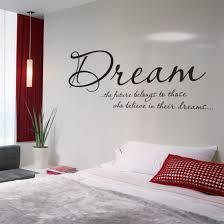 dream bedroom vinyl wall art sticker