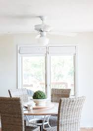 how to paint a ceiling fan step by step photo tutorial shows you