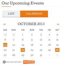event calendar eventbrite event calendar listing widget support wordpress com