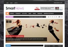 Smart News Responsive Blogger Template Blogspot Templates 2019