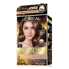 L Oreal Excellence Light Beige Brown Hair Color Excellence Fashion Permanent Hair Color Beige Light Brown 7 1
