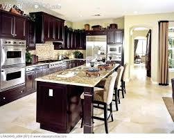 kitchen decorating ideas dark cabinets.  Dark Kitchen Decorating Ideas Dark Cabinets Modren Decorating Beautiful  Traditional Dark Cabinet Kitchen With Modern Chandelier Intended Ideas Cabinets C