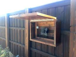 Outdoor Tv Cabinet Enclosure Ideas Best Weatherproof On Consoles Stand Outside Case Weatherproo