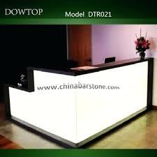 Desk Modern Beauty Salon Furniture Reception Desk Small