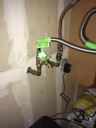 any issue adding garden hose bib to soft water side of water loop