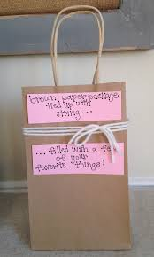 brown paper package with string for valentine s day one of 30 last