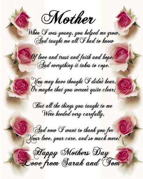 happy mothers day poems in hindi