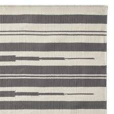 aura stripe indoor outdoor rug grey