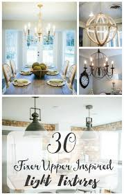 inspired lighting. Fixer Upper Lighting Ideas For Your Home. Lights Inspired By HGTV\u0027s Upper. A Round Up Of Joanna Gaines Farmhouse Style All In One Place!