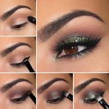 stunning glitter makeup ideas for the new years eve