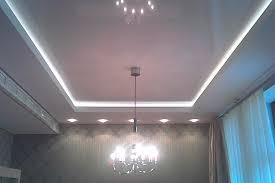 drop ceiling lighting ideas