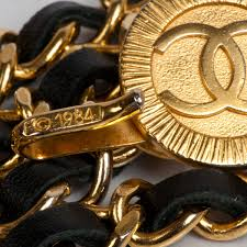 chanel belt. vintage chanel necklace belt