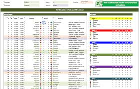 Cricket Score Card Format World Cup Schedule And Scoresheets Exceltemplate Net