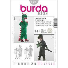 Animal Costumes Dinosaur Dragon For Kids Burda 2503